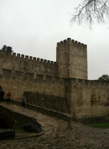 The beautiful old castle (In Lisbon).