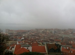 A beautiful view (In Lisbon).