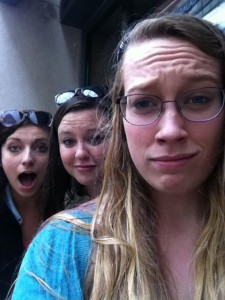 Displeased with the rain (In Lisbon).